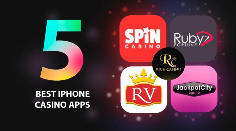 Five Best iPhone Casino Apps