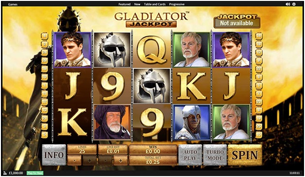 Free Gladiator Slot (Playtech) -Game description