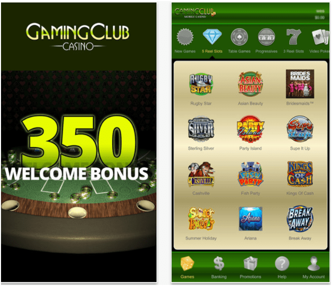 Gaming Club Casino Canada- Slots for iPhone