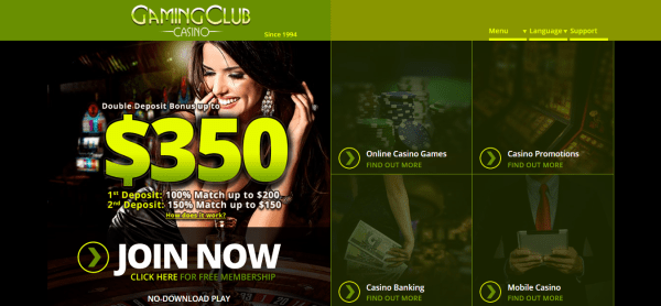 Gaming Club Online Casino