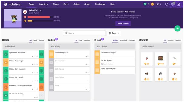 Habitat App- Features