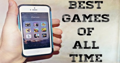 5 All-time Hit iPhone Games