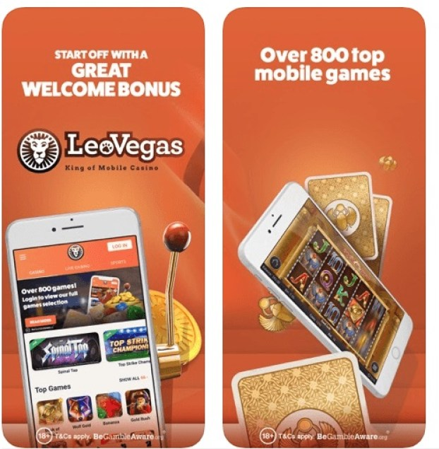 Leo Vegas casino app for slots