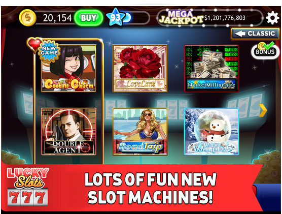 Lucky slots games