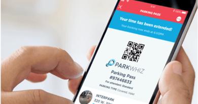 Parking whizz app