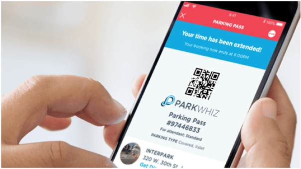 Parking whizz app
