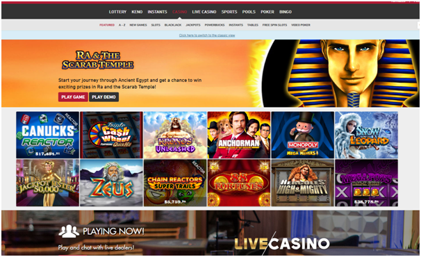 Play now casino Canada