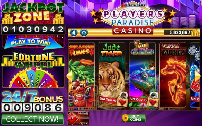 The Game Changer is Players Paradise Slots by 616 Digital LLC 1