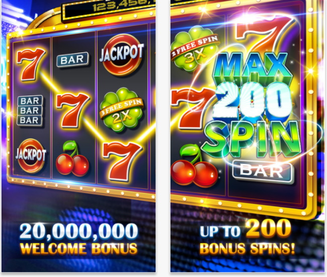 Playing with social casino app