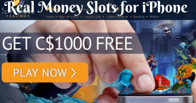 Real money slots for iPhone