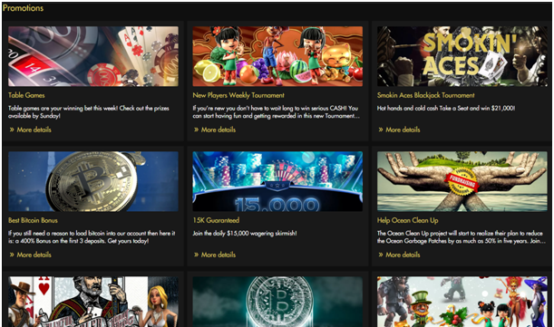 Rich casino Canada Promotions