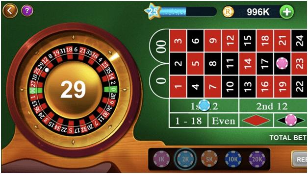 Roulette Vegas casino style