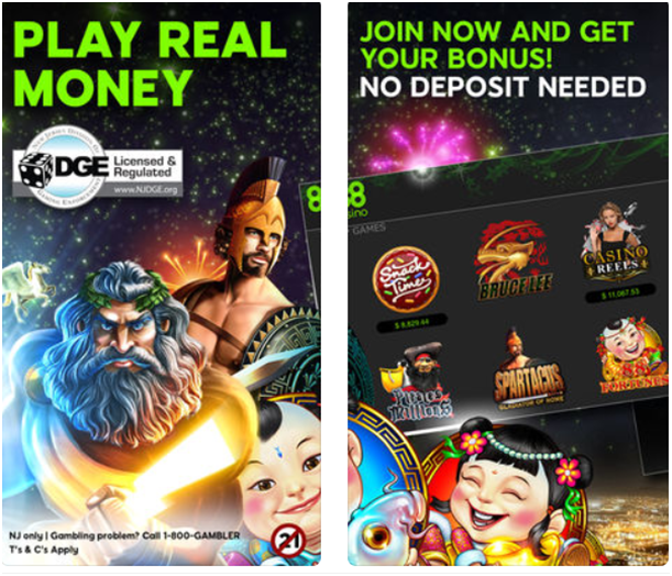Real money slots app