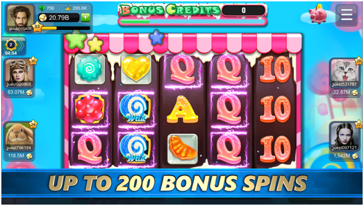 Slots of Fun app bonus spins