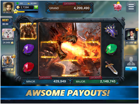 Slots of Fun app features