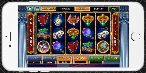 Slots on iPhone