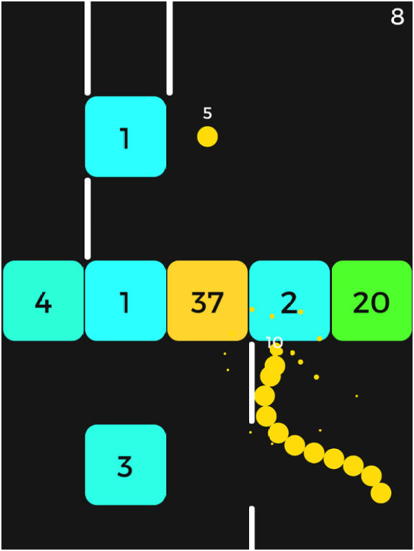 Snake Vs Block game app