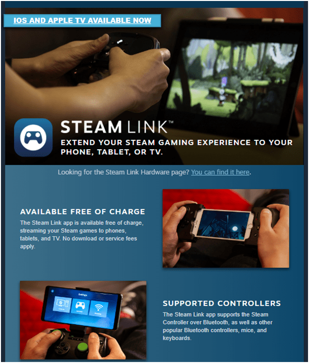Steam Link app iTunes