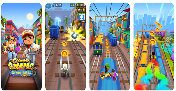 Subway Surfers game app