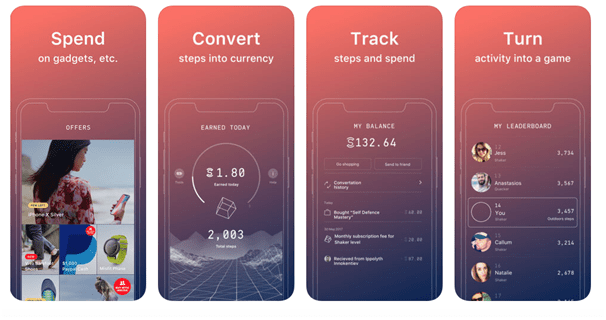 Sweat coin app now in Canada