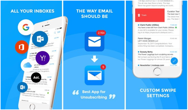 Three email apps iOS 14 now lets you set as default