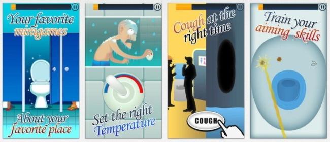 Toilet Time Mini Games