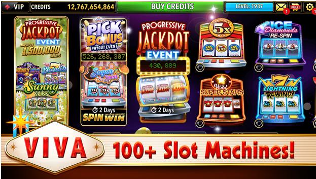 VIVA slot machines