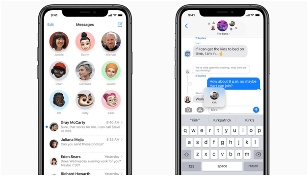 What are some of the outstanding new features of iOS 14- Search