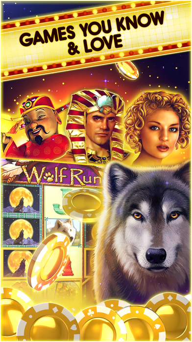 Wolf Run Slots at Double Down