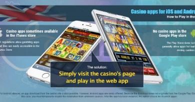 Top 5 iOS iPhone Compatible Casinos 1