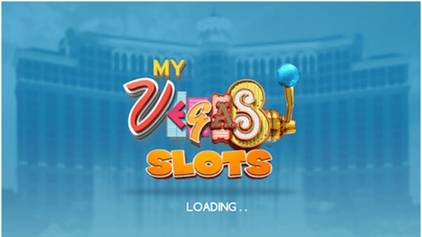 myVegas slots app loading on iPhone
