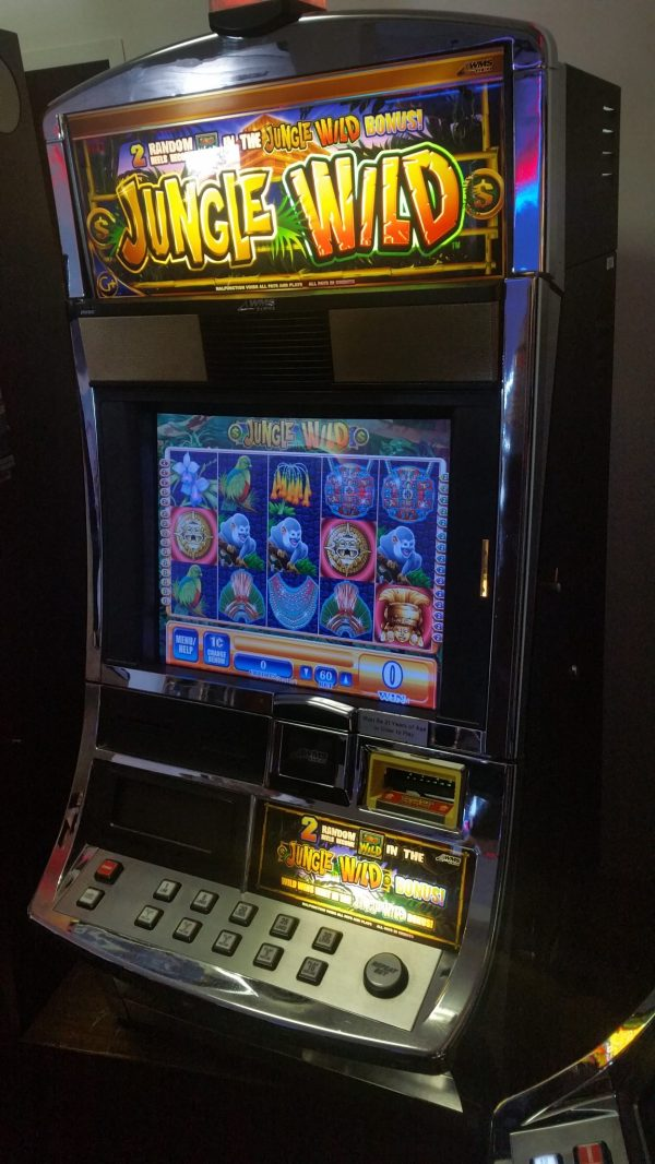 WMS Blue Bird Jungle Wild Video Bonus Slot Machine - Slot ...
