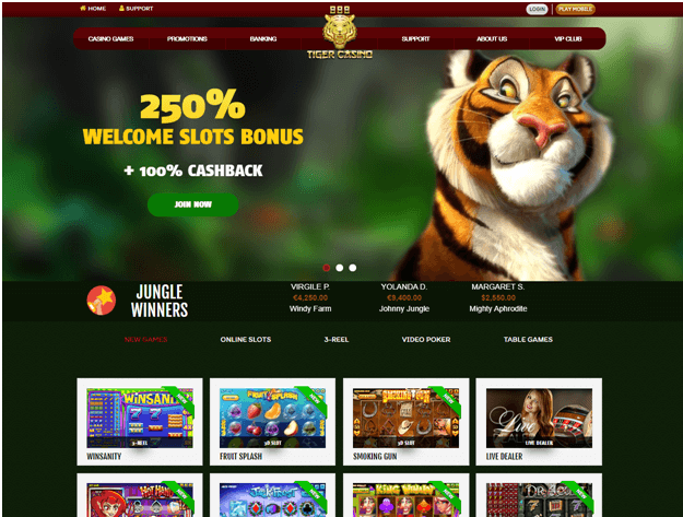 888-Tiger-South-African-Casino