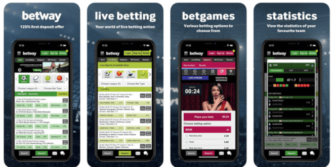 Betway sports betting app