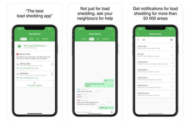 Eskonsepush app