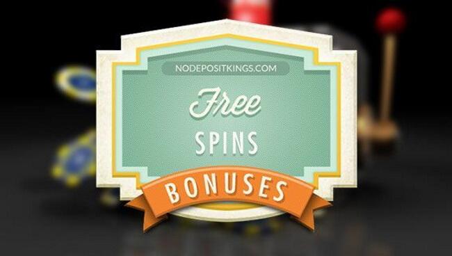 Free spins as bonus promotions