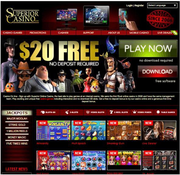 Superior-casino-no-deposit-bonus