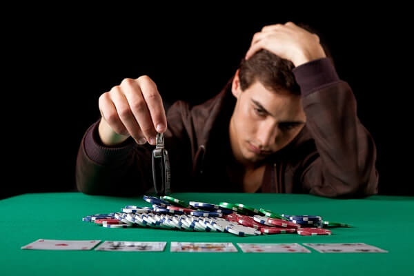 What is the prognosis for gambling addiction