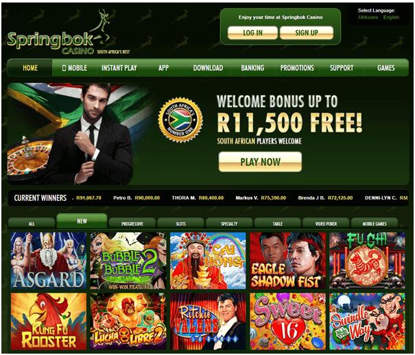 Springbok Casino- TV Shows to watch this winter