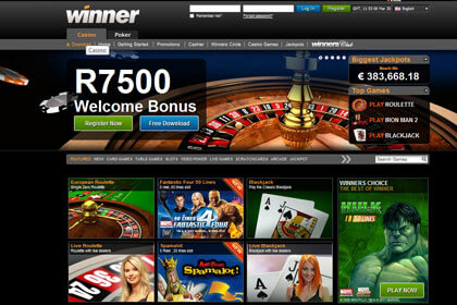 Winner Casino No Deposit Bonus