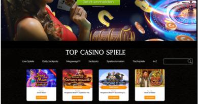 Casino.com ist das perfekte Online Casino für deutsche Spieler, um Casinospiele zu spielen
