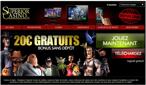 Superior Casino Fr