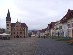 Zentrum von Bardejov