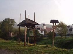 Wahrzeichen des Poloniny-Nationalparks - Heutrockner bei Nova Sedlica