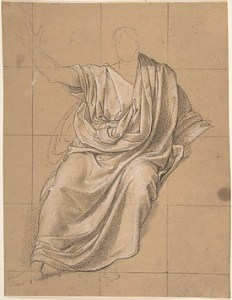 J.-B. J. Wicar, Studium draperii, 1818, Metropolitan Museum of Art, domena publiczna, https://collectionapi.metmuseum.org/api/collection/v1/iiif/336066/757938/main-image
