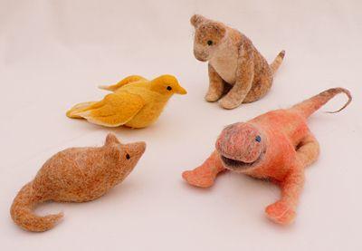 juguetes de lana