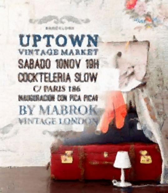 1er Uptown Vintage Market en Slow