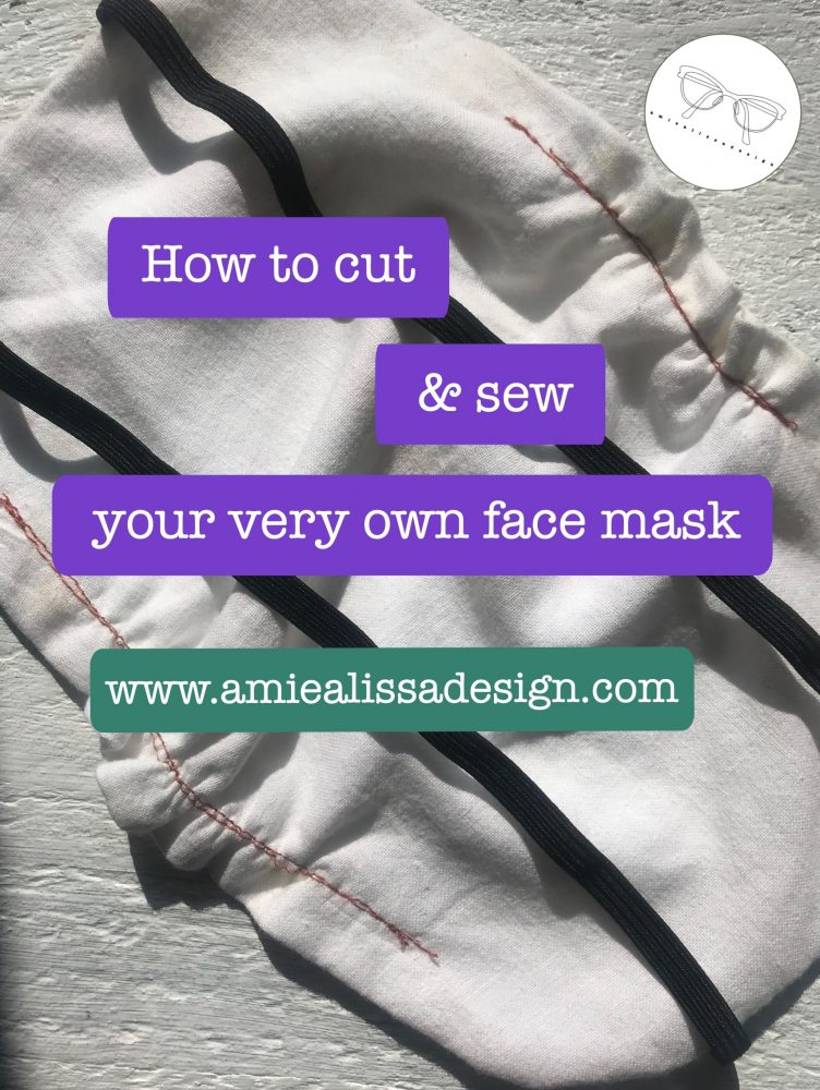 How to cut and sew your own DIY face mask