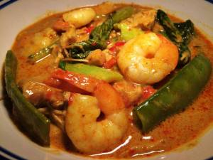 Thai Chicken & Prawn Yellow Curry (Gaeng Karee)