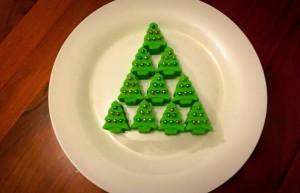 Christmas Tree Fudge